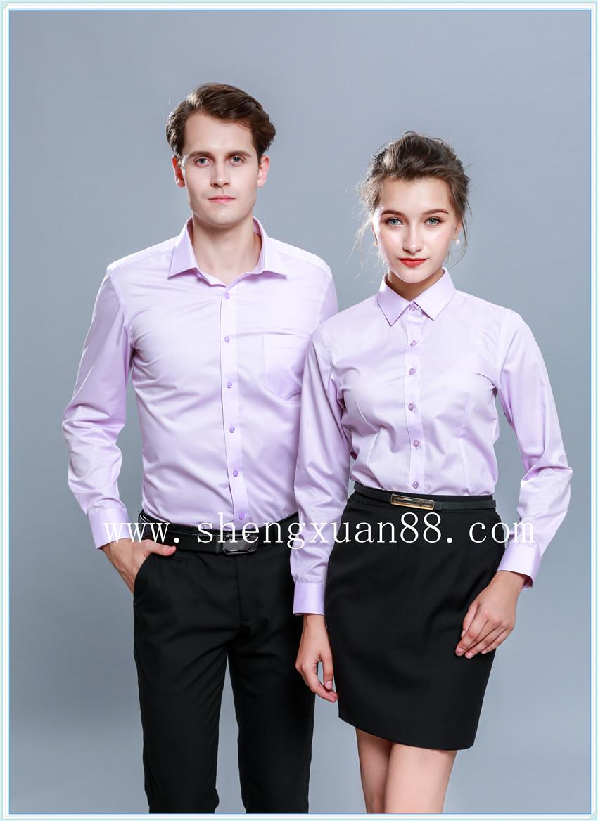 男女長袖襯衫sx-167